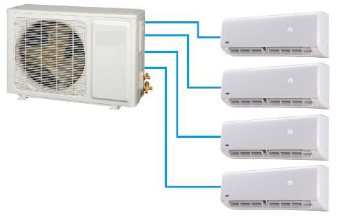 Multi split inverter