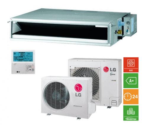 Comprar Aire acondicionado LG conductos compact cm24r + uu24wr