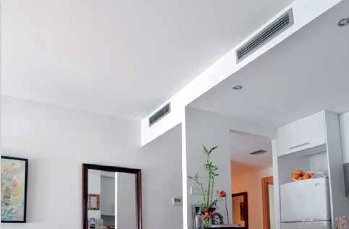 instalacion aire acondicionado conductos mitsubishi