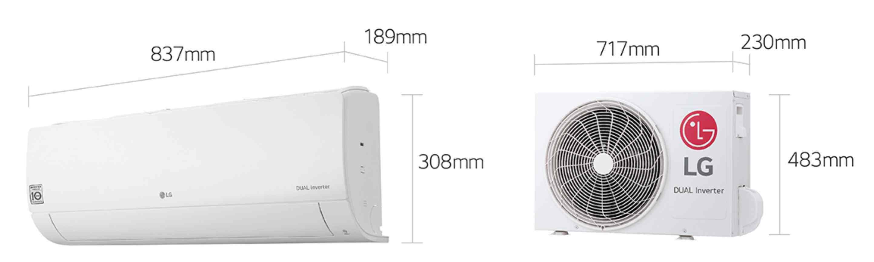 Precio Aire acondicionado LG Confort Connect PC12SQ