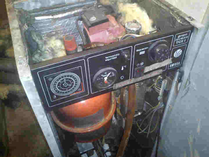 Reparacion caldera
