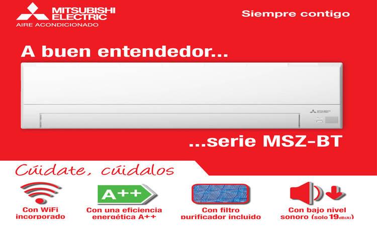Aire Acondicionado Mitsubishi MSZ-BT50VGK oferta