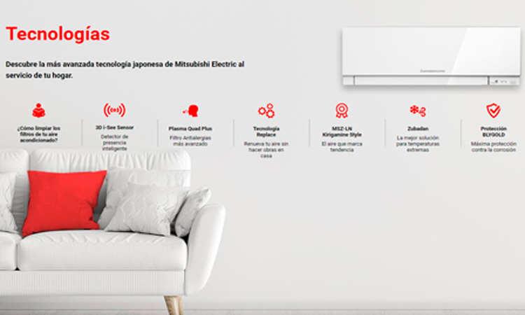 aire acondicionado mitsubishi electric precios