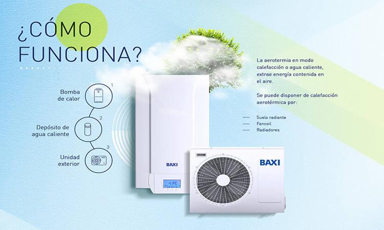 Bomba de calor Baxi Platinum BC iMax 27 TR oferta