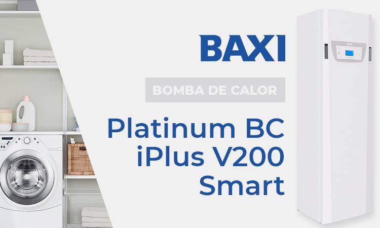 Bomba de calor Baxi Platinum BC iPlus V200 Smart 8 MR oferta