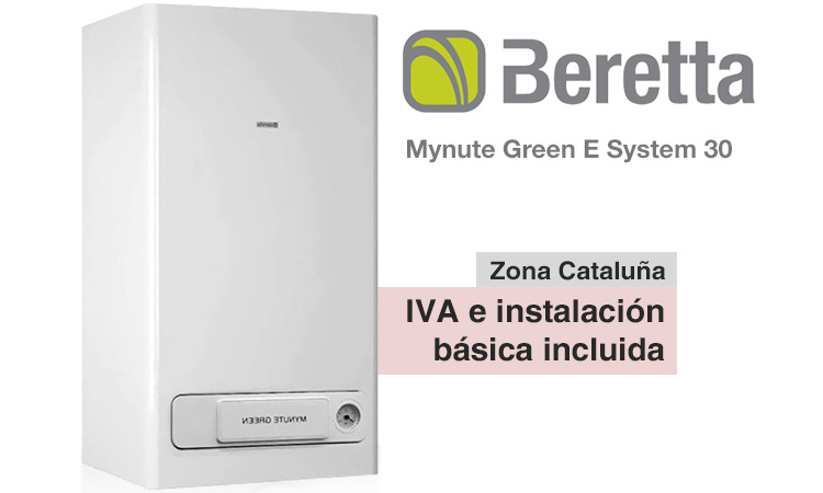 Caldera Beretta Mynute Green E System 30 CSI precio