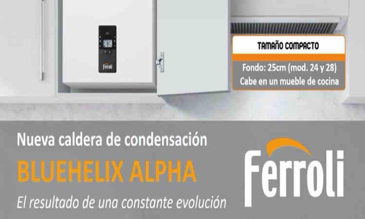 Caldera Ferroli Bluehelix Alpha 24 c precio