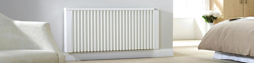 Calefacción gas 9 radiadores 65 elementos caldera gas