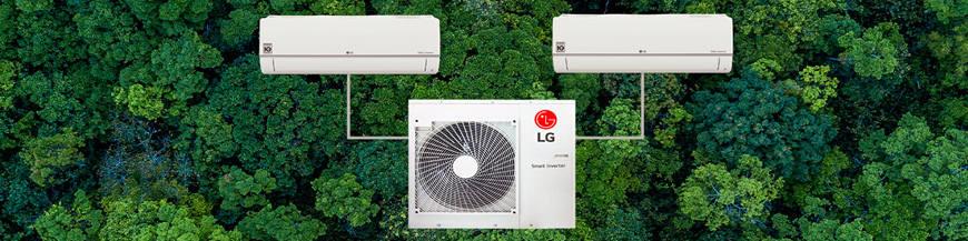 Aire acondicionado LG MU2M15 (pm07sp + pm07sp)