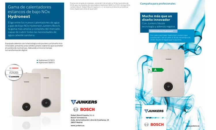 ofertas calentador Junkers hydronext 5600 S WTD 17-3 AME