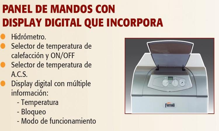 oferta Caldera Ferroli Atlas D Eco 42 Unit