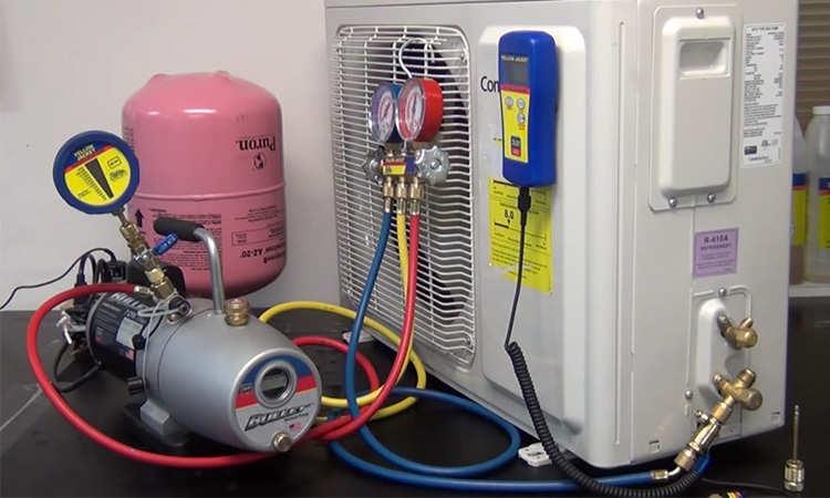 recuperadora de gas refrigerante